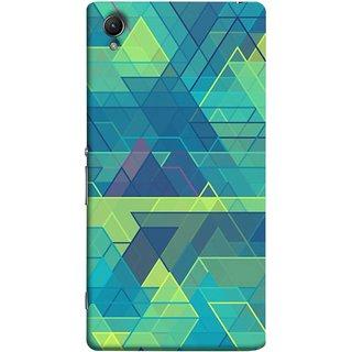 FUSON Designer Back Case Cover For Sony Xperia Z5 Premium :: Sony Xperia Z5 4K Premium Dual (Hexagonal Shape Abstract Pattern Geometric Shapes )