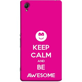 FUSON Designer Back Case Cover For Sony Xperia Z5 :: Sony Xperia Z5 Dual 23MP (Beautiful Hearts Always Stay Silent & Be Goodto Others)