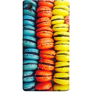 FUSON Designer Back Case Cover For Sony Xperia Z5 :: Sony Xperia Z5 Dual 23MP (Homemade Veggie Burgers With Sweet Potato )