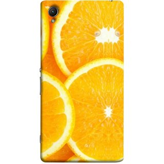 FUSON Designer Back Case Cover For Sony Xperia Z5 :: Sony Xperia Z5 Dual 23MP (Lemon Agriculture Background Bud Candy Cell)