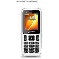 Micromax X071 Mobile Phone - White