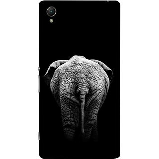 FUSON Designer Back Case Cover For Sony Xperia Z5 Premium :: Sony Xperia Z5 4K Premium Dual (Side View Of Jungli Animal Forest Trees Leaves Branches)