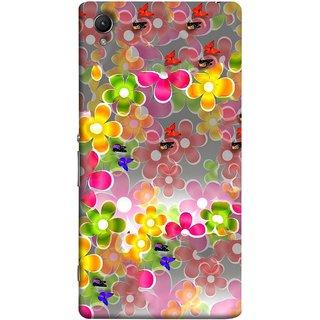 FUSON Designer Back Case Cover For Sony Xperia Z5 Premium :: Sony Xperia Z5 4K Premium Dual (Butterflies Garden Trees Stars Bright Best Wallpaper)