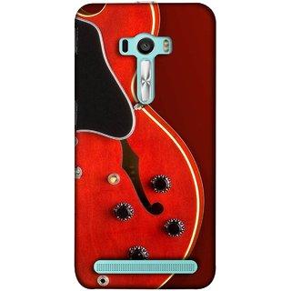 FUSON Designer Back Case Cover For Asus Zenfone 2 Laser ZE601KL (6 Inches) (Close Up Of Electric Guitar Leaning On Amplifier )