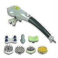 Free Shipping Magic Massager With 7 Attachments For Back Face Head Legs Hand Foo