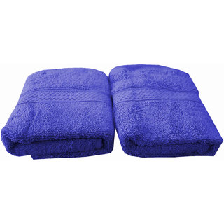 Welhouse India 500 GSM Cotton 2 Piece Hand Towel Set (40X60) RHT-001