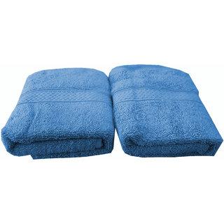 Welhouse India 500 GSM Cotton 2 Piece Hand Towel Set (40X60) RHT-003