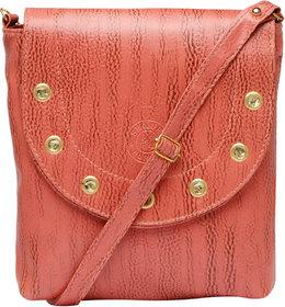 Brink Pink Color Stylish Sling Bag Shoulder Bag Purse For Girls Women