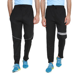 Swaggy Solid Track Pants (pack of 2)