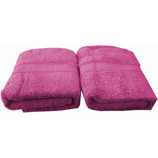 Welhouse India 500 GSM Cotton 2 Piece Hand Towel Set (40X60) RHT-004