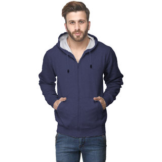 Van Galis Fashion Wear Blue Sweatshirt For Men