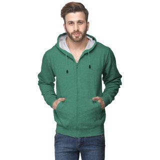 Van Galis Fashion Wear Light Green Sweatshirt For Men