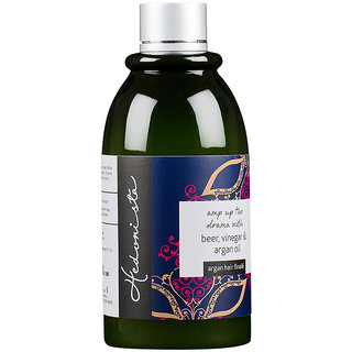 Hedonista Argan Hair Final - With Moroccan Argan Oil Beer and vinegar rinse for silky shiny hair (300 ml)