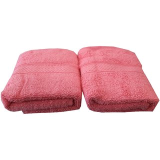 Welhouse India 500 GSM Cotton 2 Piece Hand Towel Set (40X60) RHT-006