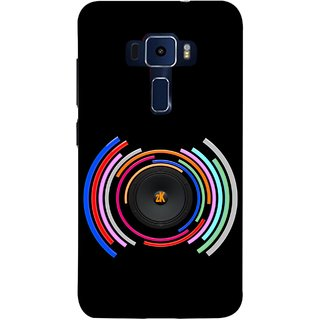 online retailer 48162 6b95d FUSON Designer Back Case Cover For Asus Zenfone 3 Laser ZC551KL (5.5  Inches) (Amazing In Concert Work Of Art Magical Best Wallpaper)