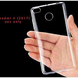 finest selection f75ec c24bc Redmi 4 Transparent Back Case Cover By Baseus