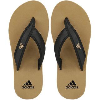 Adidas Men's Adi Rio Khaki Slippers  Flip Flops