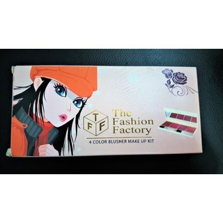 Buy The Fashion Factory 4 Color Blusher Make Up Kit 02net