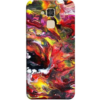 FUSON Designer Back Case Cover For Asus Zenfone 3 Max ZC520TL (5.2 Inches) (Art Gallery Style Wallpaper Wow Perfect Wall Paint)