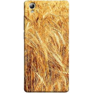 FUSON Designer Back Case Cover For Vivo Y51 :: Vivo Y51L (Wheat Farmers Farms Morning Sunlight Bright Day)