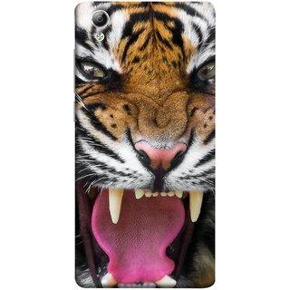 FUSON Designer Back Case Cover For Vivo Y51 :: Vivo Y51L (Jungle King Stearing Angry Roaring Loud Aslan )