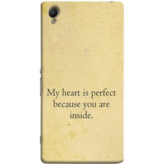 FUSON Designer Back Case Cover For Sony Xperia Z1 :: Sony Xperia Z1 L39h :: Sony Xperia Z1 C6902/L39h :: Sony Xperia Z1 C6903 :: Sony Xperia Z1 C6906 :: Sony Xperia Z1 C6943  (Love Is Worth The Effort Pure Lovers Hearts Kisses)