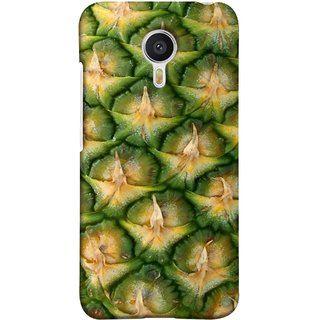 FUSON Designer Back Case Cover For YU Yunicorn :: YU Yunicorn YU5530 (Pineapple Skin Interesting Textured Art Design )