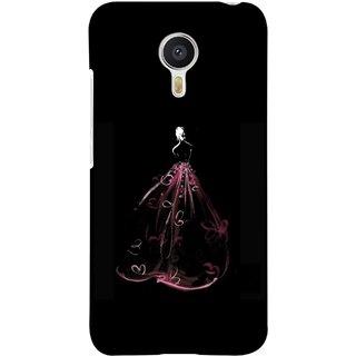 FUSON Designer Back Case Cover For YU Yunicorn :: YU Yunicorn YU5530 (Cloth Design Dark Pink Baby Maroon Paper Sheet )