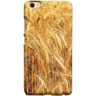 FUSON Designer Back Case Cover For Oppo F3 Plus (Wheat Farmers Farms Morning Sunlight Bright Day)