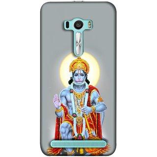FUSON Designer Back Case Cover For Asus Zenfone 2 Laser ZE601KL (6 Inches) (Hanuman Gadadhari Bajrangi Vayuputra Lord Chalisa)