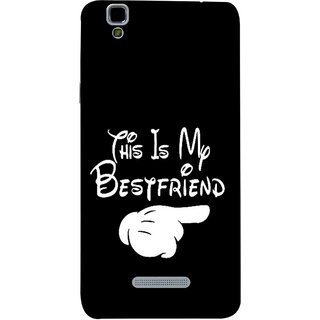 FUSON Designer Back Case Cover For YU Yureka :: YU Yureka AO5510 (Friends Always Together Dosti Yaari Masti Maja Fun)