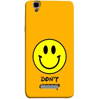 FUSON Designer Back Case Cover For YU Yureka :: YU Yureka AO5510 (Big Smiling Baby Smiley Be Happy Never Worry)