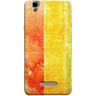 FUSON Designer Back Case Cover For YU Yureka :: YU Yureka AO5510 (Colors Colorful Abstract Painting Art Vector Painted )
