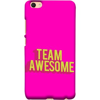 FUSON Designer Back Case Cover For Vivo Y55L :: Vivo Y55 (Teamwork Is Best Hardwork Alltogether Result Best)