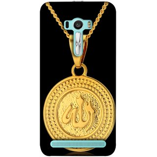 FUSON Designer Back Case Cover For Asus Zenfone 2 Laser ZE601KL (6 Inches) (Allah Pendant Necklace For Men Middle East Necklaces)