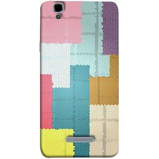FUSON Designer Back Case Cover For YU Yureka :: YU Yureka AO5510 (Ceramic Tiles Hall Bathroom Home Decor Pattern)