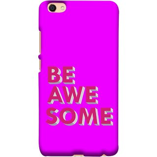FUSON Designer Back Case Cover For Vivo Y55L :: Vivo Y55 (Make Differnece To Others Life Take Your Dreams )