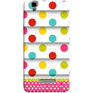 FUSON Designer Back Case Cover For YU Yureka :: YU Yureka AO5510 (Loopable Background With Nice Glowing Spectrum)