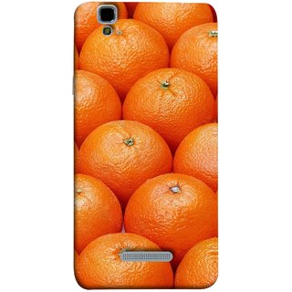 FUSON Designer Back Case Cover For YU Yureka Plus :: Yu Yureka Plus YU5510A (Countryside Scent Of Orange Blossoms Citrun )