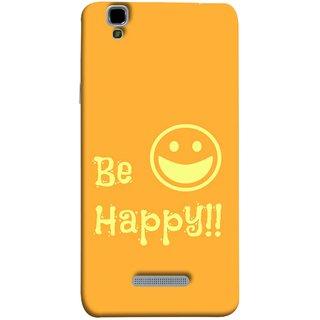 FUSON Designer Back Case Cover For YU Yureka :: YU Yureka AO5510 (Big Smile Best Wallpapers Inspiration Quote)
