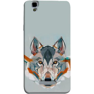 FUSON Designer Back Case Cover For YU Yureka Plus :: Yu Yureka Plus YU5510A (Multicolour Dogs Perfect Look King Bird Night Tree)