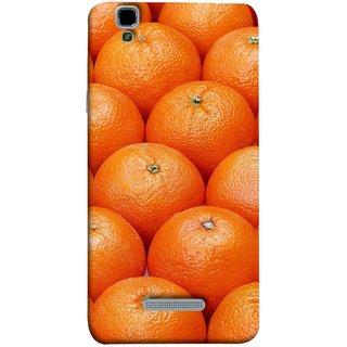 FUSON Designer Back Case Cover For YU Yureka :: YU Yureka AO5510 (Countryside Scent Of Orange Blossoms Citrun )