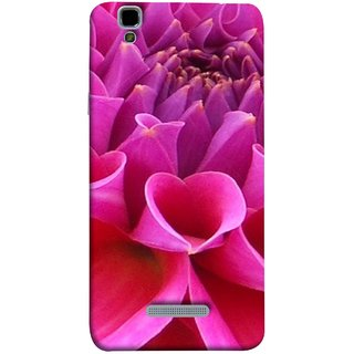 FUSON Designer Back Case Cover For YU Yureka :: YU Yureka AO5510 (Floral Patterns Shining Dark Red Florals Design Patterns)