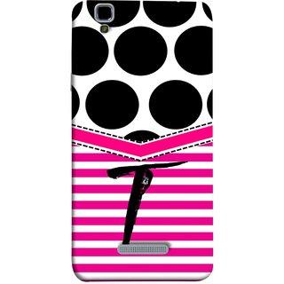 FUSON Designer Back Case Cover For YU Yureka :: YU Yureka AO5510 (Beautiful Cute Nice Couples Pink Design Paper Girly T)