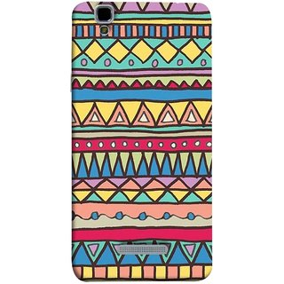 FUSON Designer Back Case Cover For YU Yureka :: YU Yureka AO5510 (Tribal Patterns Colourful Eye Catching Verity Different )
