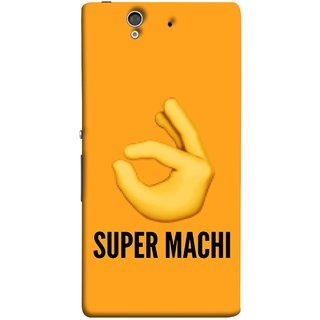 FUSON Designer Back Case Cover For Sony Xperia Z :: Sony Xperia ZC6603 :: Sony Xperia Z L36h C6602 :: Sony Xperia Z LTE, Sony Xperia Z HSPA+ (Super Machi Video Song Allu Arjun Samantha)
