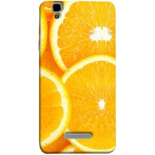 FUSON Designer Back Case Cover For YU Yureka :: YU Yureka AO5510 (Lemon Agriculture Background Bud Candy Cell)