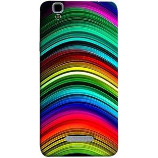 FUSON Designer Back Case Cover For YU Yureka Plus :: Yu Yureka Plus YU5510A (Vector Digital Illustration Best Wallapper Pattern)