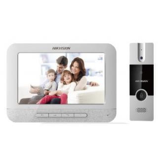 HIKVISION 7 VIDEO DOOR PHONE WITH ANALOG CAMERA SUPPORT