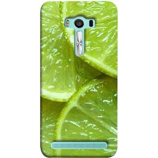 FUSON Designer Back Case Cover For Asus Zenfone 2 Laser ZE550KL (5.5 Inches) (Lemon Agriculture Background Bud Candy Cell)